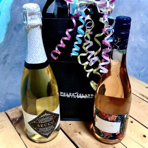 Double Bubbles, Pelee Island Secco & LOLA Blush, 2-pack
