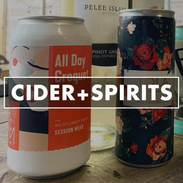 Cider and Spirits - Retail